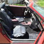 Seats in the car It works for my TR7 which has a