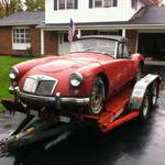 MGA loaded up the weather improved a bit for this