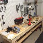 Getting the tool wall organized