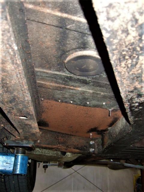 TR6 Floor Panel Replacement Cost : TR6