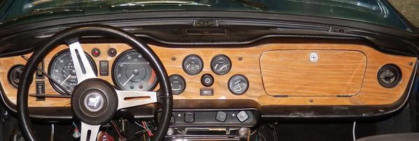 Dashboard For A 1974 Tr6 Tr6 Tech Forum Triumph Experience Car