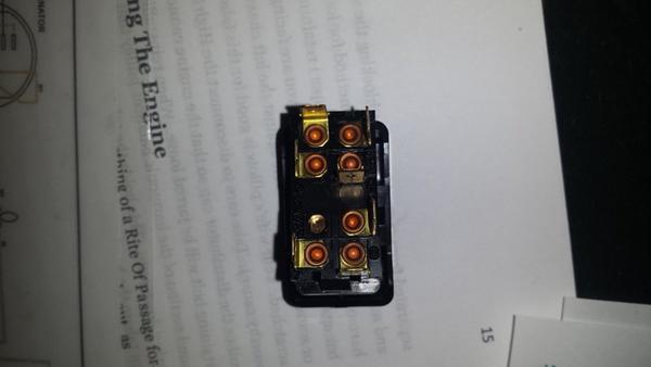 71 tr6 hazard switch wiring diagram