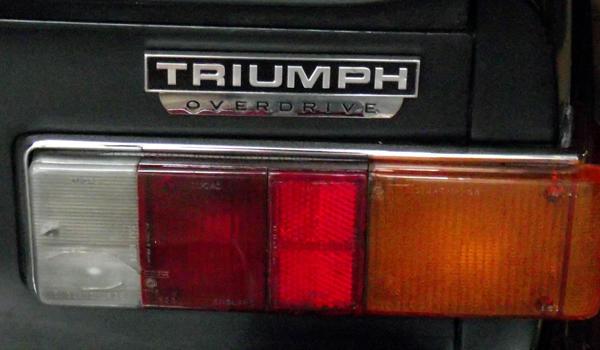 Overdrive Badge : TR6 Tech Forum : Triumph Experience Car