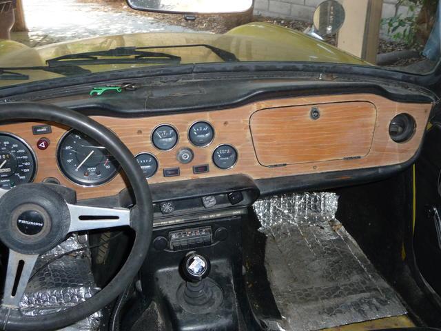 Tr61974 Dashboard Tr6 Tech Forum Triumph Experience Car