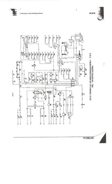 headlight switch wiring   tr6 tech forum   triumph