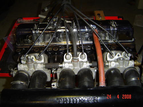Inexpensive Fuel Injection F 500 Complete For Triumph 6s And 4s