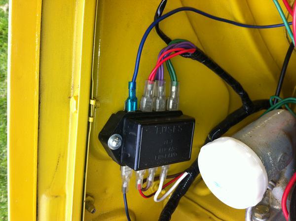 Groovy Wiring Up Fog Lights Tr6 Tech Forum Triumph Experience Car Wiring Digital Resources Honesemecshebarightsorg