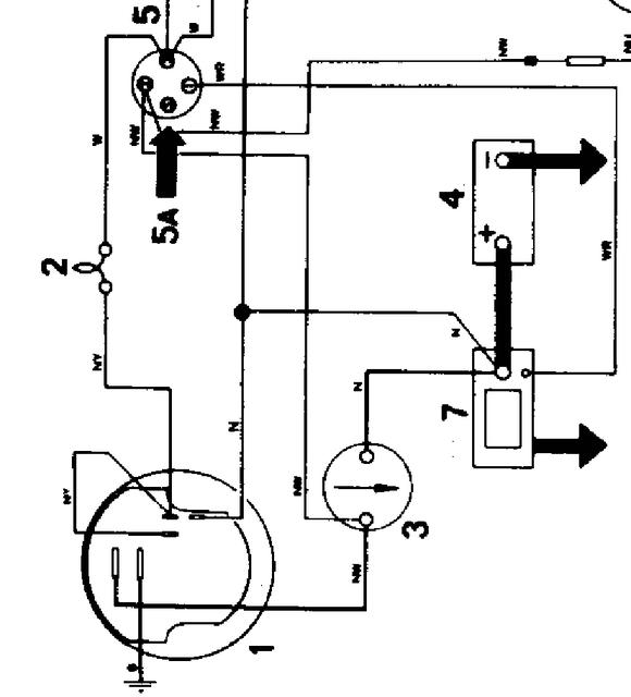 from_1972_partial_wiring_diagram ammeter and alternator tr6 tech forum triumph experience car Ford Alternator Wiring Diagram at gsmx.co