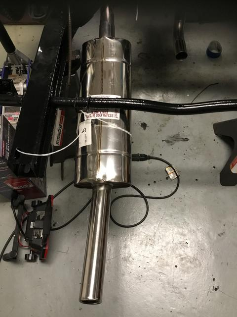 Need help with exhaust system installation : TR6 Tech Forum