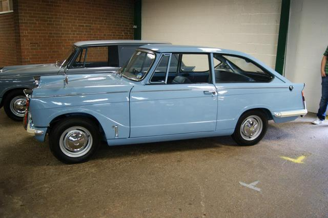 anybody know anything about this herald fastback? : herald