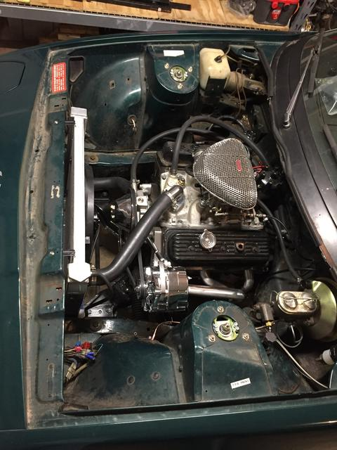 4 3L Chevy V6 Engine Swap : TR7 & TR8 Forum : Triumph