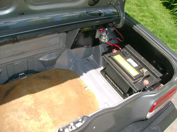 Tr8 Battery Replacement Tr7 Tr8 Forum Triumph Experience Car