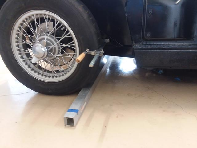 Setting Wheel Alignment What Do You Think Tr2 Tr3 Forum