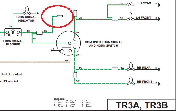 Tr3a Wiring Photos Under The Hood    Tr2  U0026 Tr3 Forum