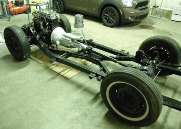 install body back on frame - pics anyone? : tr2 & tr3 forum