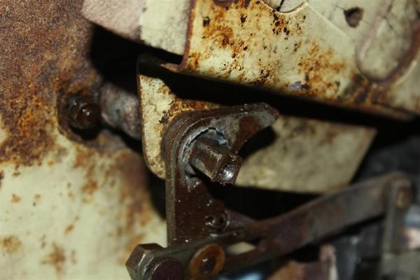 Pot Metal Bushing On Tr3a Door Handle Shaft Tr2 Tr3 Forum
