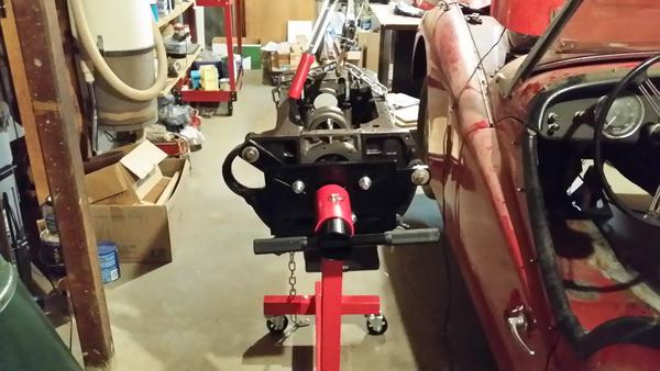 Tr3b Best Way To Mount Engine On Stand Tr2 Amp Tr3 Forum
