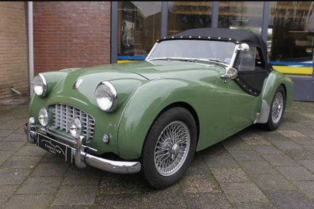 Apple Green Paint Code Tr2 Tr3 Forum Triumph Experience Car