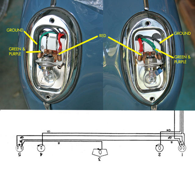 tr3a tail light wiring question tr2  u0026 tr3 forum