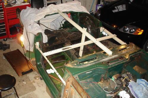 Tr4 Body Off Chassis Tr4 Amp Tr4a Forum Triumph