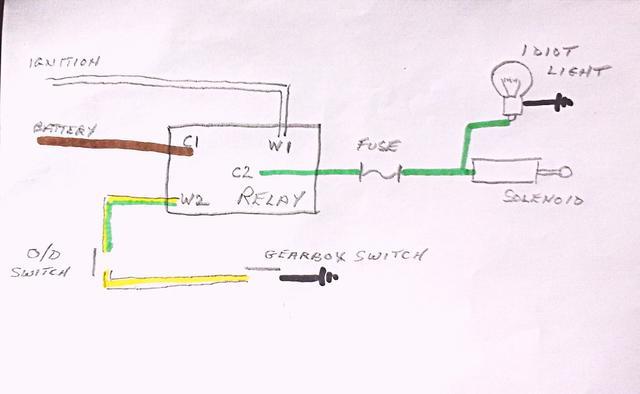 mg midget mk3 wiring diagram gt6  d  type gearbox od wiring diagram spitfire   gt6 forum  gt6  d  type gearbox od wiring diagram