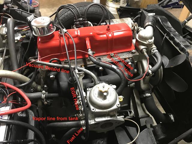 TRIUMPH Stag ** Overflow Acqua Tappo ** Spitfire TR6 2000 TR4 GT6 Vitesse