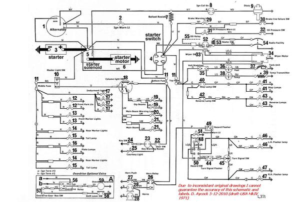 1971MKIVwireAbold electrical issues 1972 mk4 spit spitfire & gt6 forum triumph sunbeam tiger wiring diagram at n-0.co