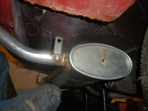 exhaust fitting : spitfire & gt6 forum : triumph experience car