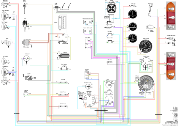 Schema modern day electrical wiring vs old fashioned spitfire & gt6 triumph herald 1200 wiring diagram at fashall.co