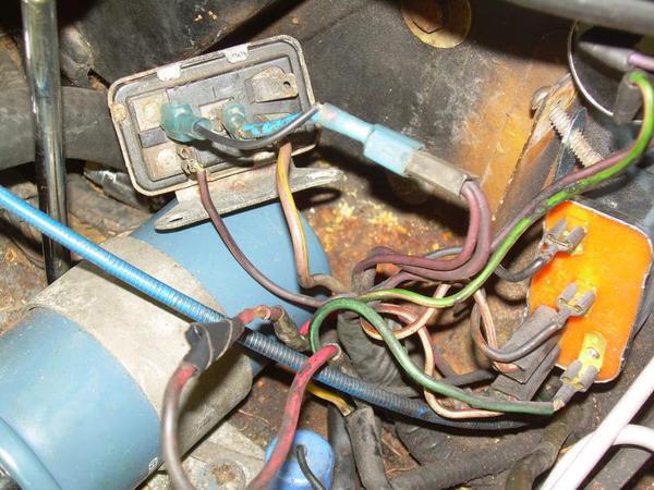 ignition wiring and relay questions spitfire gt6 forum triumph rh triumphexp com triumph tr6 horn relay wiring Relay Wiring Diagram in a Box