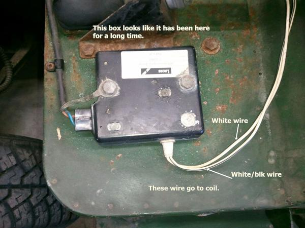 Drive Resistor Help Spitfire GT6 Forum Triumph Experience – Lucas Distributor Wiring Diagram