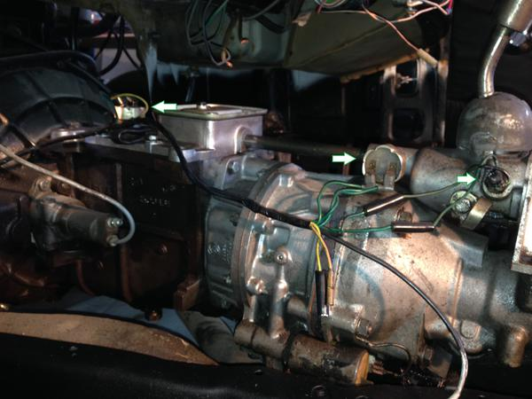 Type \'J\' Overdrive wiring : Spitfire & GT6 Forum : Triumph ...