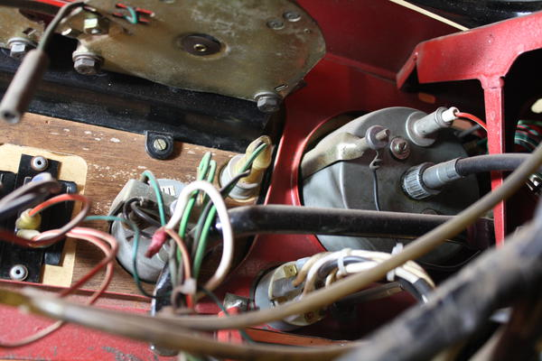Picture Of A Gt6 Mk1 Rear Of Ignition Switch With Wiring Setup   Spitfire  U0026 Gt6 Forum   Triumph