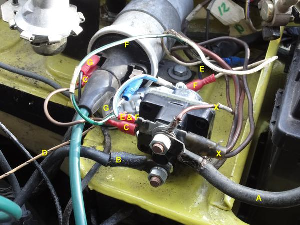 solenoid starter ignition switch problem spitfire & gt6 forum triumph