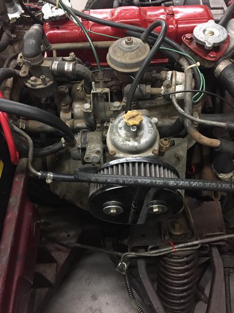 Triumph TR5 TR6 Carburettor tool Mixture adjustment for Stromberg carbs 1967-76