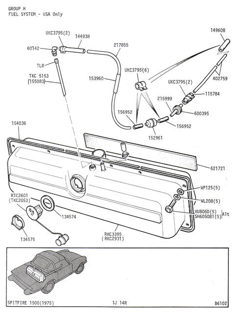fuel system diagram  71 mk4   spitfire  u0026 gt6 forum   triumph experience car forums   the triumph