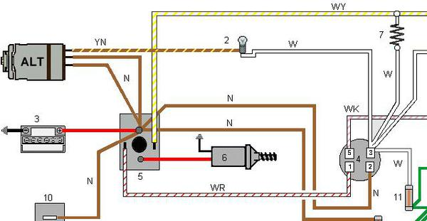 3_wire alternator help please spitfire & gt6 forum triumph experience triumph spitfire mk1 wiring diagram at virtualis.co