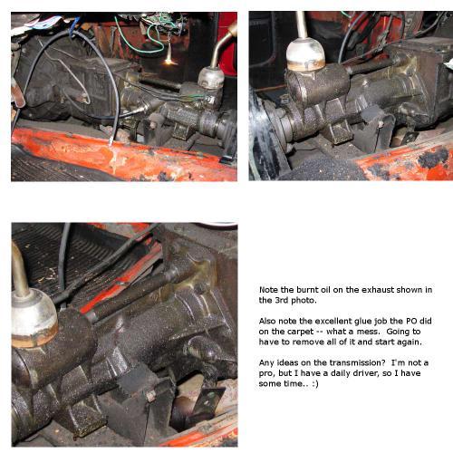 Transmission Leak... Please Help! : Spitfire & GT6 Forum