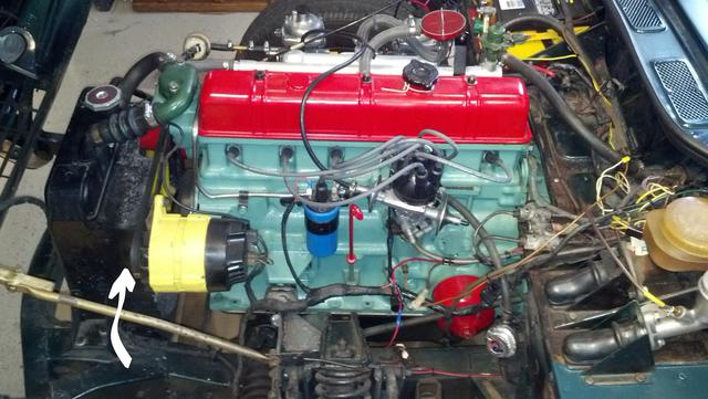 Radiator Shroud Doing Any Good Spitfire Gt6 Forum Triumph