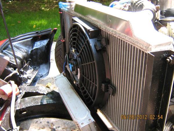 radiator replace or recore? : Spitfire & GT6 Forum : Triumph