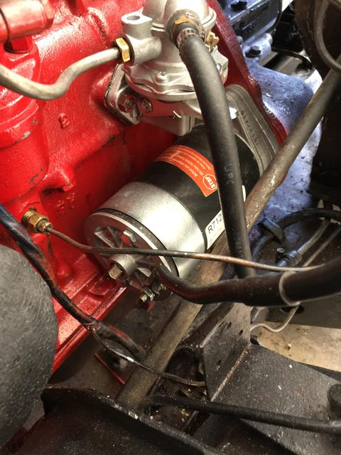 Engine won't turn over - starter or ?? : Spitfire & GT6