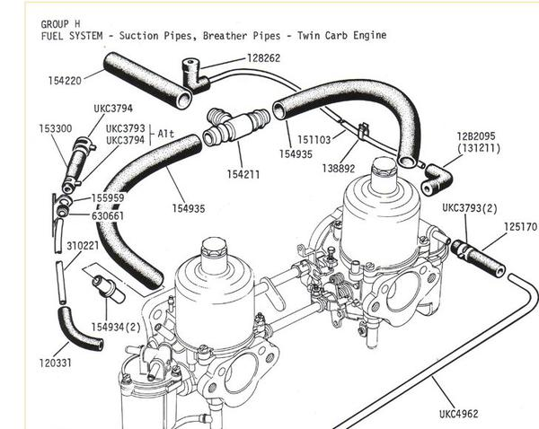 Blowing oil out of the valve cover and cap (Page 2) : TR6