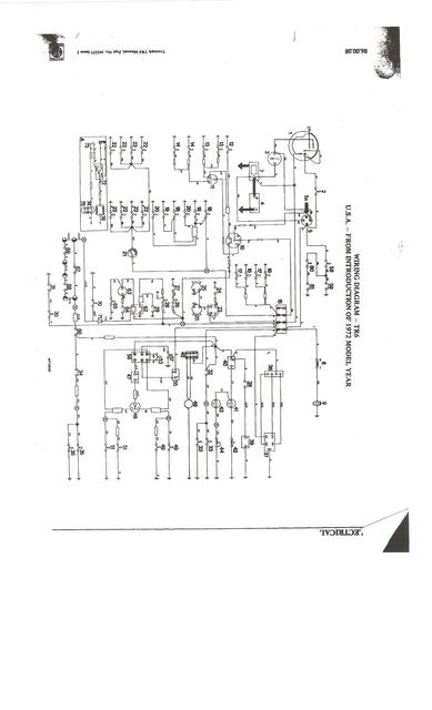 1974 triumph wiring diagram