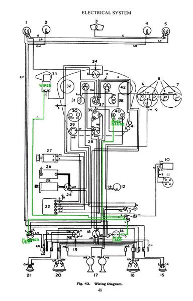 1960 triumph tr3 wiring diagram free picture c3 headlight wiring diagram free picture schematic #5
