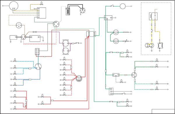 triumph motorcycle wiring diagrams switch wiring- 1963 tr4 : tr4 & tr4a forum : triumph ... triumph car wiring diagrams