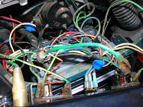 Fuel And Temp Gauges Not Working   Spitfire  U0026 Gt6 Forum