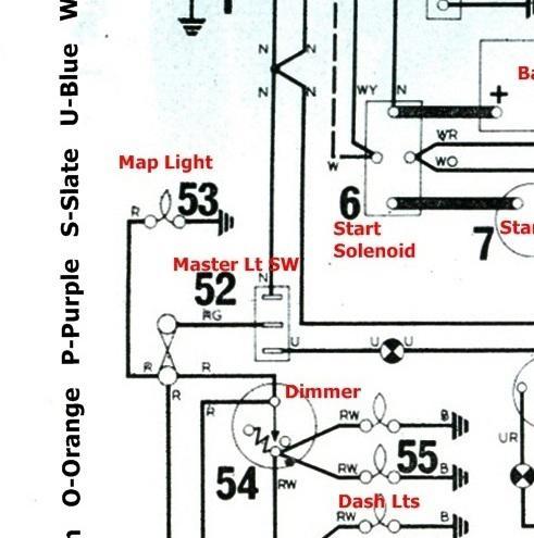 Map light removal : Spitfire & GT6 Forum : Triumph