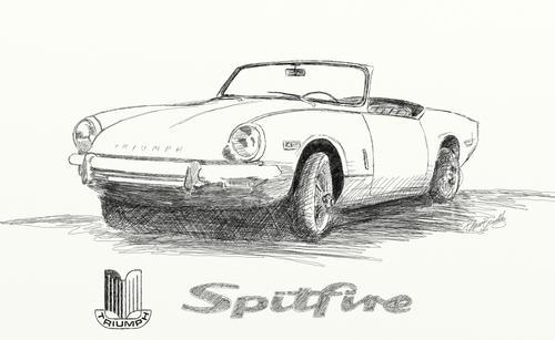 spitfire drawings       spitfire  u0026 gt6 forum   triumph