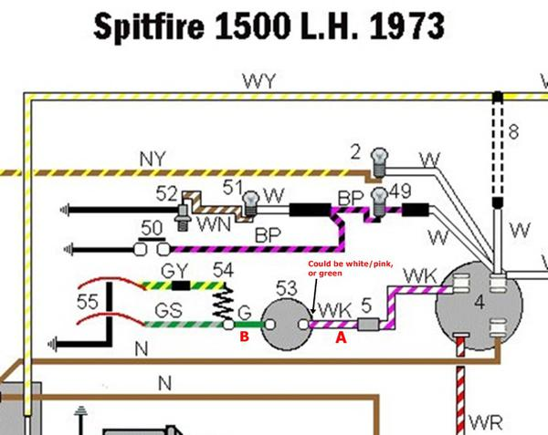 1973 triumph spitfire wiring diagram