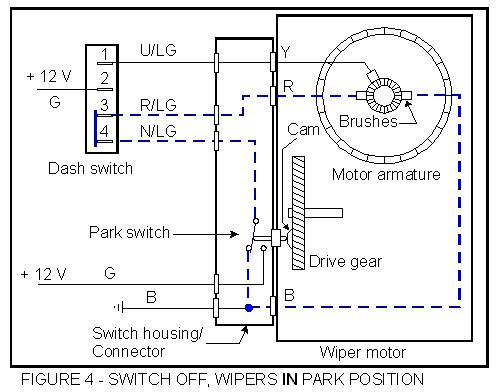 Windshield Wiper Switch 72 Triumph Spitfire   Spitfire